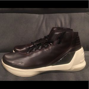 UA Curry 3 Lux Limited Edition Oxblood Leather new